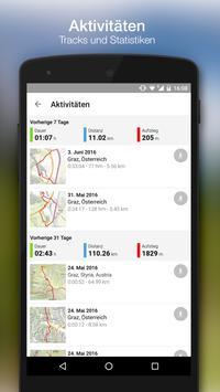bergfex rutas & GPS senderismo ciclismo carrera captura de pantalla 4