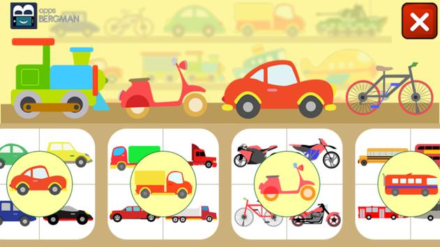 Vehicles for Kids poster