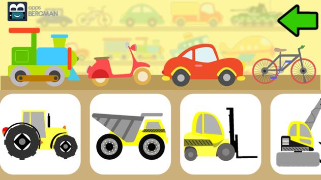 Vehicles for Kids screenshot 3
