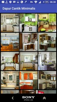 Minimalist Kitchen designs poster