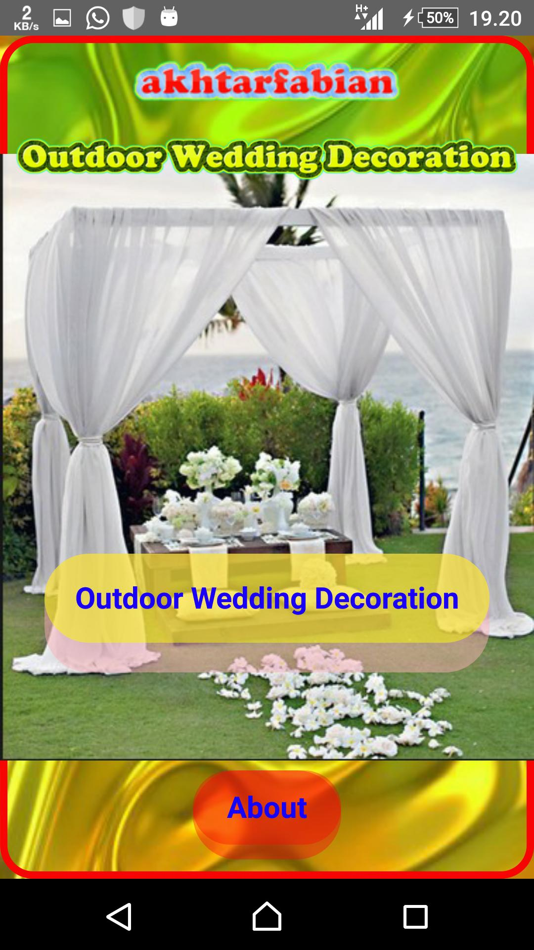 outdoor party decorating ideas for Android - APK Download