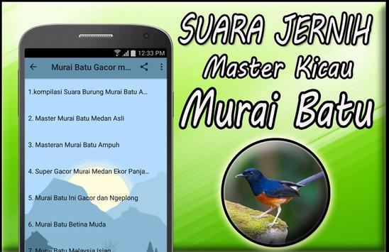 Masteran Murai Batu Mp3 Full Offline screenshot 2