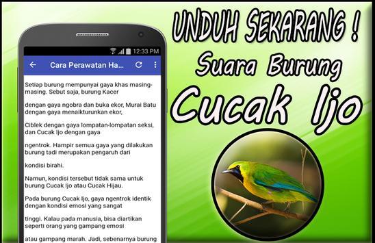 Masteran Cucak Ijo Gacor Mp3 Offline screenshot 3