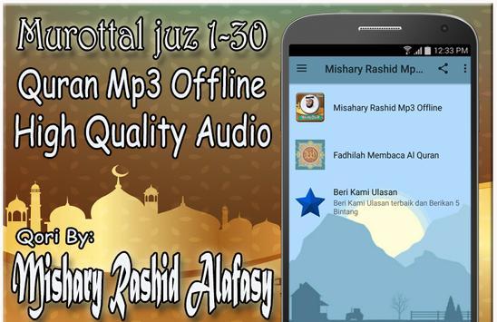 Murottal Mishary Rashid Mp3 Offline poster