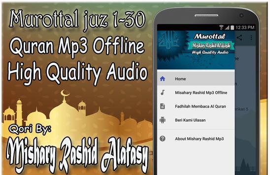 Murottal Mishary Rashid Mp3 Offline screenshot 1