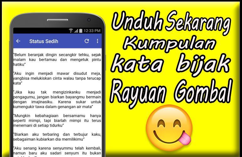 Kumpulan Kata Bijak Rayuan Gombal For Android Apk Download