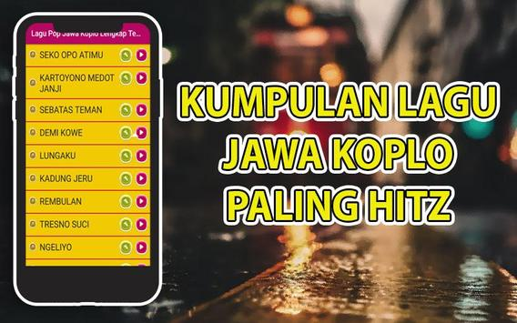 Lagu Pop Jawa Koplo Lengkap Terbaru screenshot 1