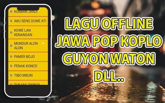 Lagu Pop Jawa Koplo Lengkap Terbaru screenshot 5