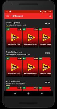 HD Movies screenshot 1