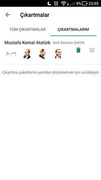 Atatürk Çıkartmaları - WhatsApp için WAStickerApps screenshot 2