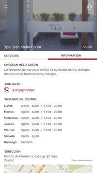 Spa Gran Meliá Colón screenshot 2