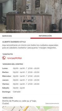 Barbería Alberto Barbero screenshot 1