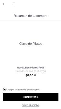Revolution Pilates Reus screenshot 2