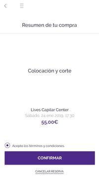 Lives Capilar Center screenshot 2