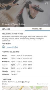 Peluquería Yamile Ostios screenshot 2