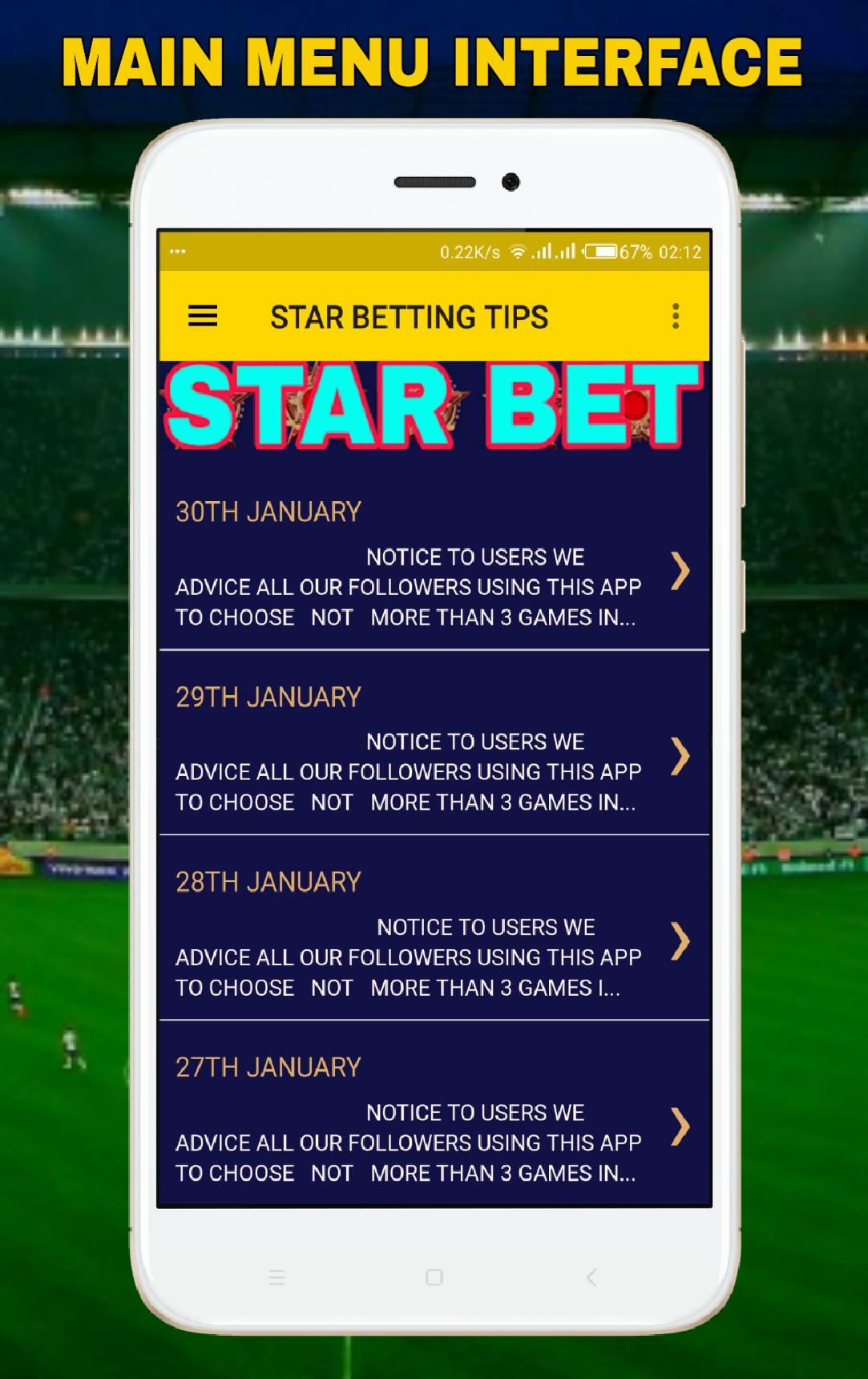STAR BETTING TIPS: Football Suretips for Android - APK Download