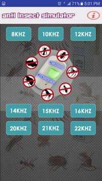 Anti Insects Repellent Sound Simulator poster
