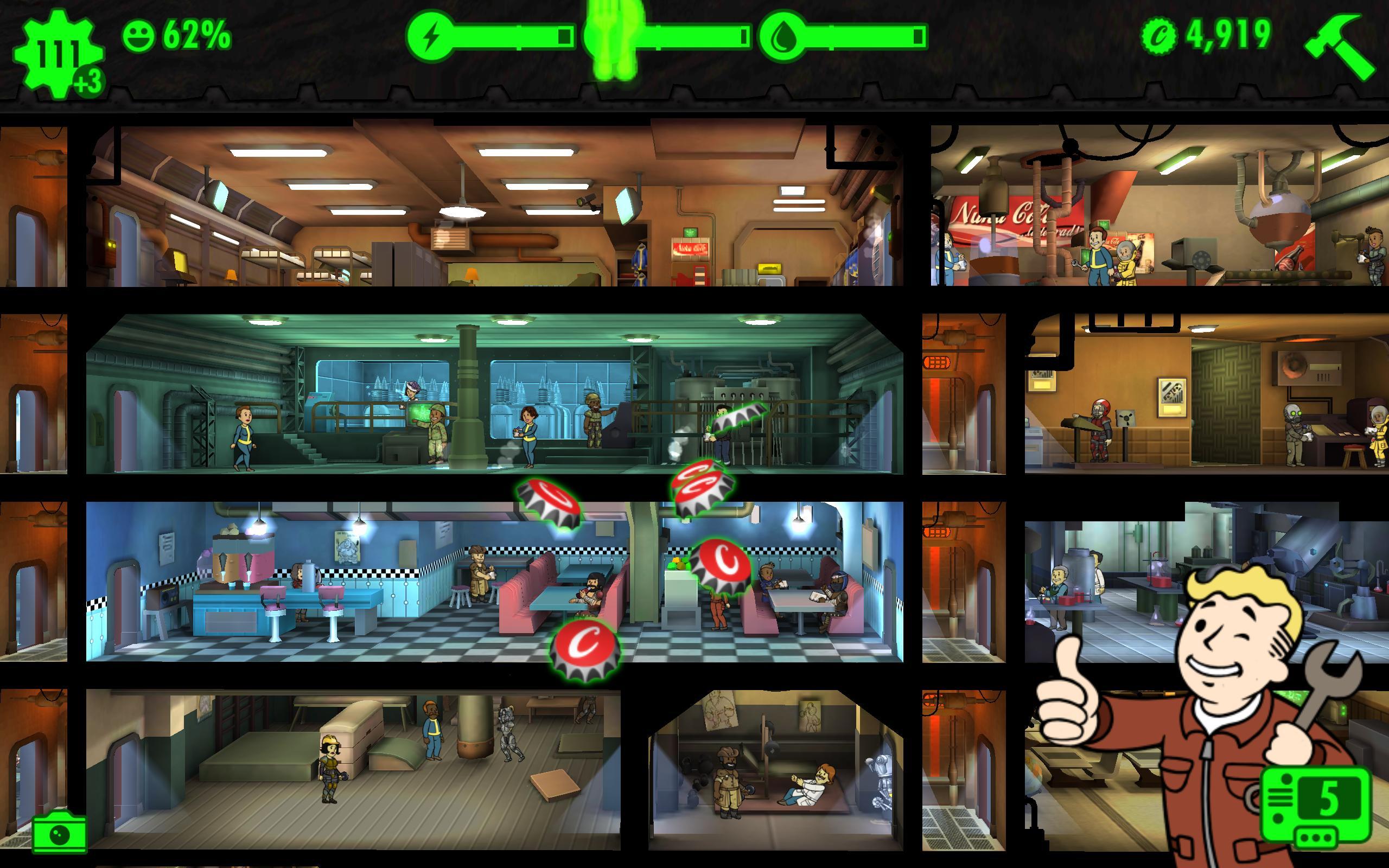 Fallout Shelter para Android - APK Baixar