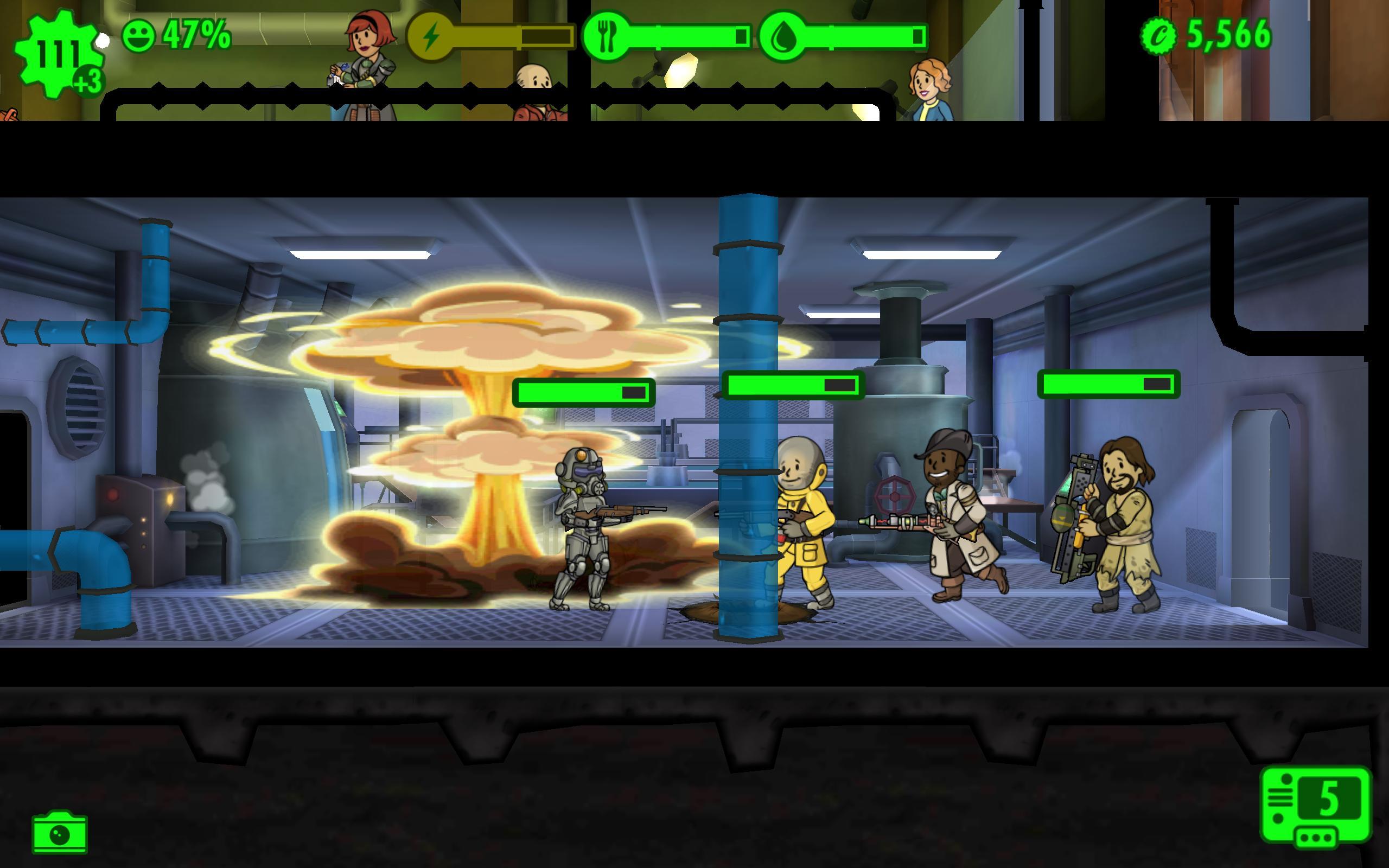 Hasil gambar untuk gambar game android fallout shelter