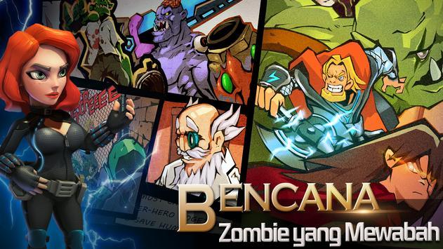 Clash of Zombies: Game Pahlawan screenshot 1
