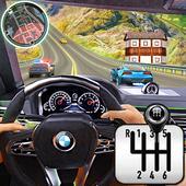 stad het rijden school- simulator 3D auto parkeren-icoon