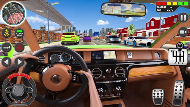 stad het rijden school- simulator 3D auto parkeren screenshot 19