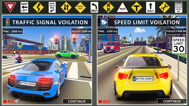 stad het rijden school- simulator 3D auto parkeren screenshot 6