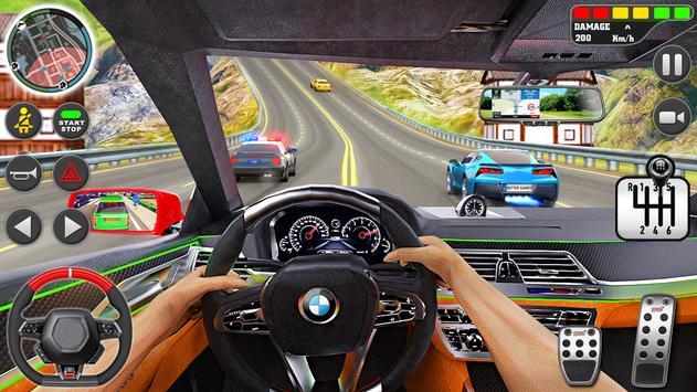 stad het rijden school- simulator 3D auto parkeren screenshot 8