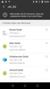 WiFi-Scanner - Ermitteln, wer mein Wlan verwendet Screenshot 1