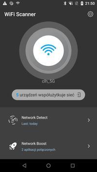 Skaner WiFi: wykrywanie Kto korzysta z mojego WiFi plakat