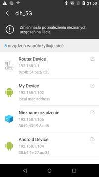 Skaner WiFi: wykrywanie Kto korzysta z mojego WiFi screenshot 1