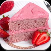 Strawberry Cake Recipes icon