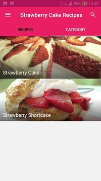 Strawberry Cake Recipes screenshot 2