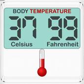 Body Temperature Convert icon