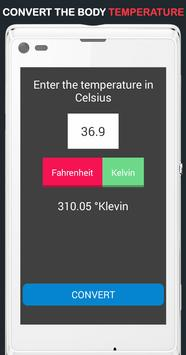 Body Temperature Convert screenshot 1