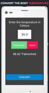 Body Temperature Convert screenshot 2
