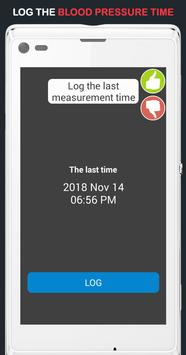 Blood Pressure Log screenshot 1