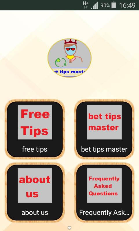 bet tips master predictor cho Android - Tải về APK