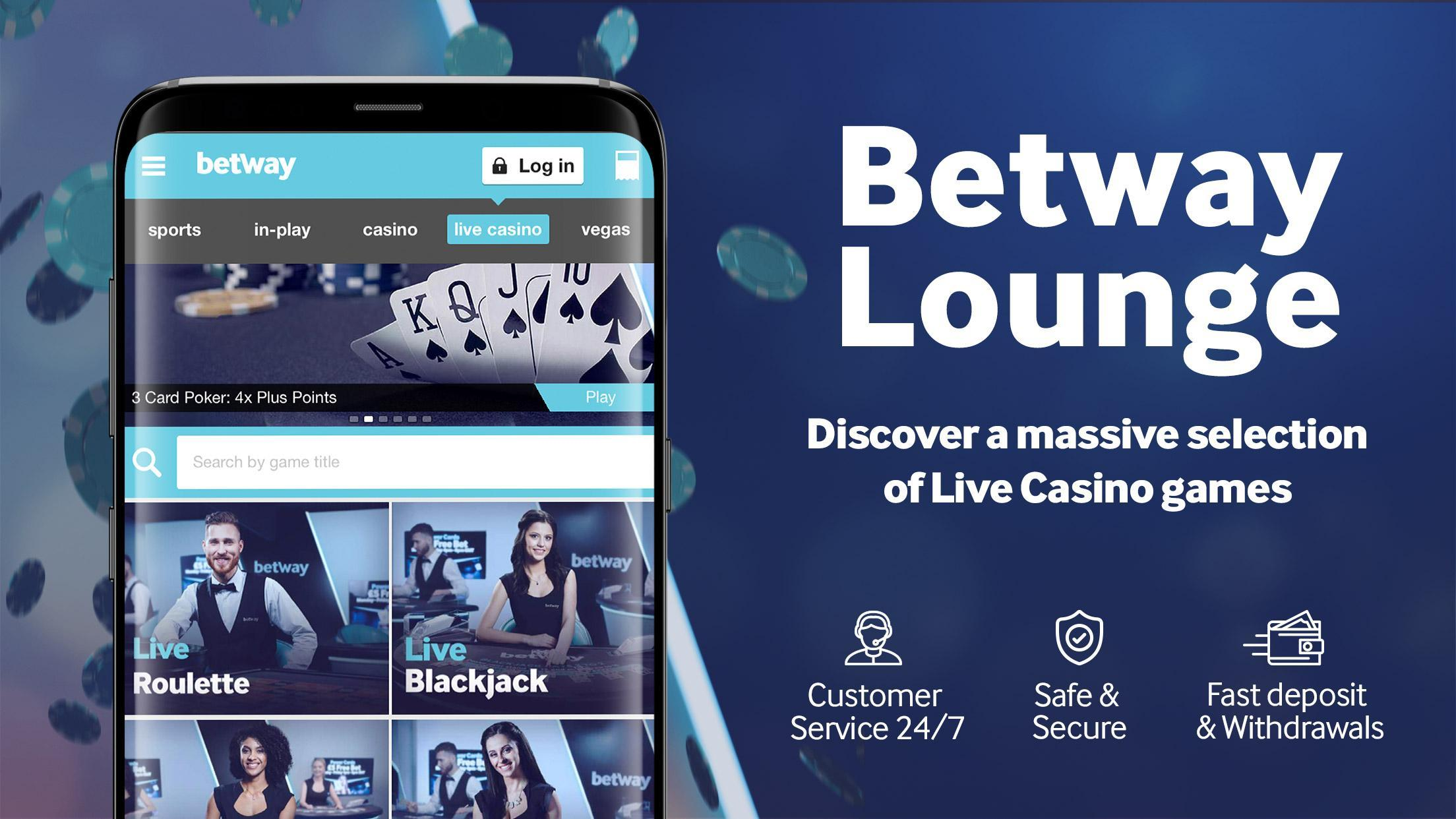 Betway casino app download windows 7