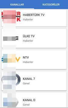 Hızlı TV - Canlı TV İzle स्क्रीनशॉट 1