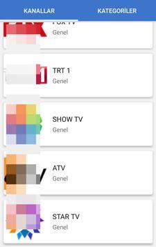 Hızlı TV - Canlı TV İzle स्क्रीनशॉट 2