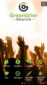 Greenbrier Church poster