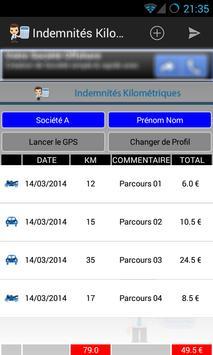 Mileage allowances screenshot 2