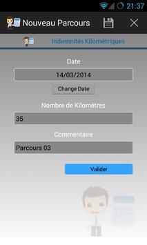 Mileage allowances screenshot 4