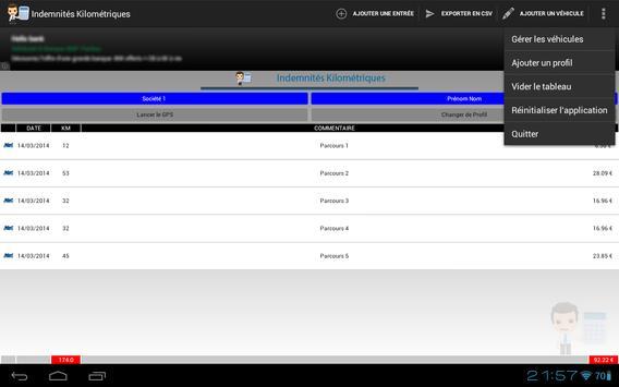 Mileage allowances screenshot 6