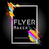Flyers, Poster Maker, Graphic Design, Banner Maker ícone
