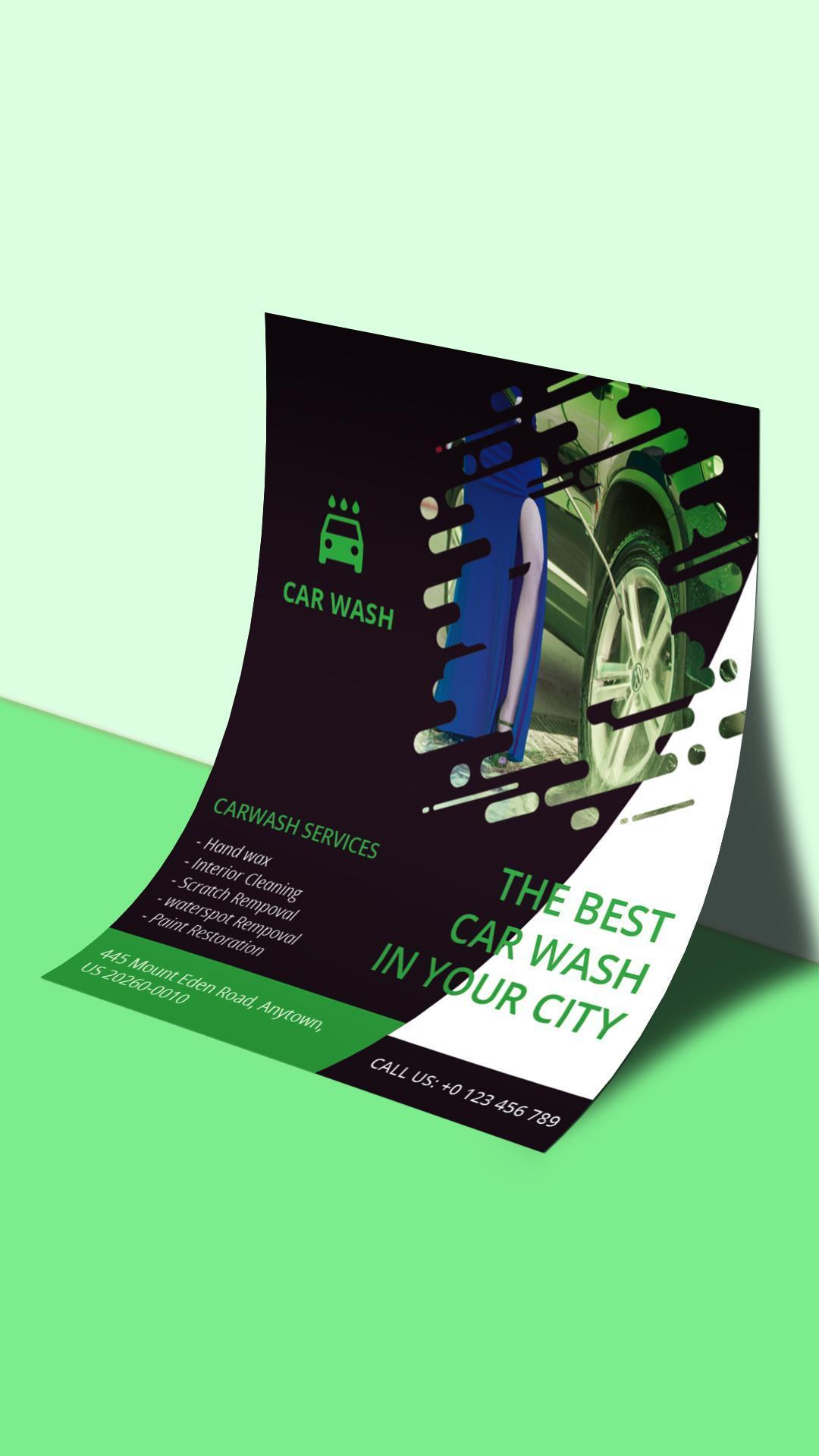 Flyers Poster Maker Graphic Design Banner Maker For Android Apk Download
