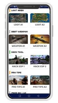 Battlegrounds Mobile India (BGMI) Tools & Pro Tips स्क्रीनशॉट 1