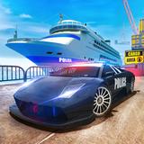 Police Ship Transporter Car Cargo