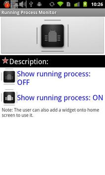 Running Process Toggle poster